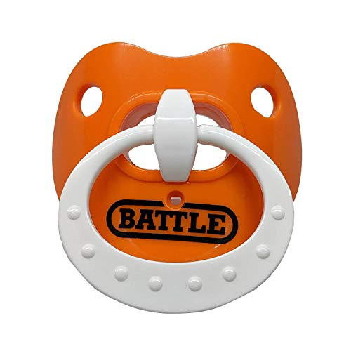 Battle Sports Binky Oxygen Lip Protector Football Mouthguard for Adults and Youth