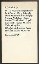 Poems by W. H. Auden, George Barker, Jack Clemo, Harry Fainlight, David Jones, Richard Murphy, Norman Nicholson, Brian Patten, Tom Pickard, Edgell Rickword, Vernon Watkins, Sheila Wingfield: Christma