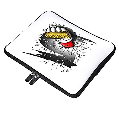 Super Smash Bros 5 Knuckle Duster Laptop Bag 13 inch Briefcase MacBook Pro MacBook Air Work Business Slim Tablet Handbag