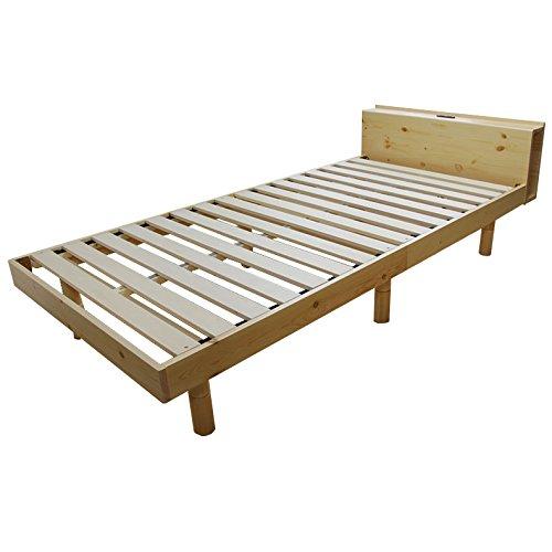 宮付きベッド フレーム ブリング4 セミダブル アンティークブラウン ベッド ベット ベッドフレーム ベット