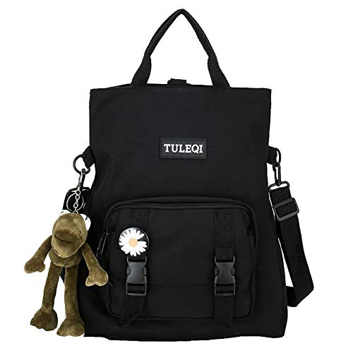 REGEN Ladies Fashion Backpack Laptop Backpack University Backpack Lightweight College Wind Travel Work Backpack Suitable Port for College Travel Work/Black