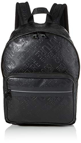 Versace Jeans Couture rugzak voor heren, zwart (nero), 14 x 38 x 27 centimeter