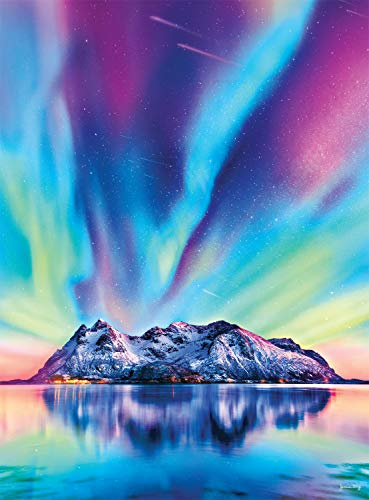 Buffalo Games - Colors on The Mountain - 1000 Piece Jigsaw Puzzle