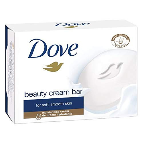 Dove Original Beauty Cream Bar White Soap 100 G / 3.5 Oz Bars (Pack of 12) by Dove