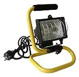 Projecteur halogène 400W Jaune Chantier - IP44 NF