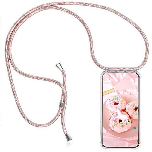 MXKOCO Funda con Cuerda para Xiaomi Mi 10T Lite-5G Carcasa de movil con Cuerda para Colgar-Funda con Correa para Hombro y Cordón Colgante/Carcasa Banda con Cordon para Llevar en el Cuello