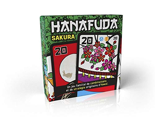 Robin Red Games - Hanafuda Sakura - Jeu De Cartes