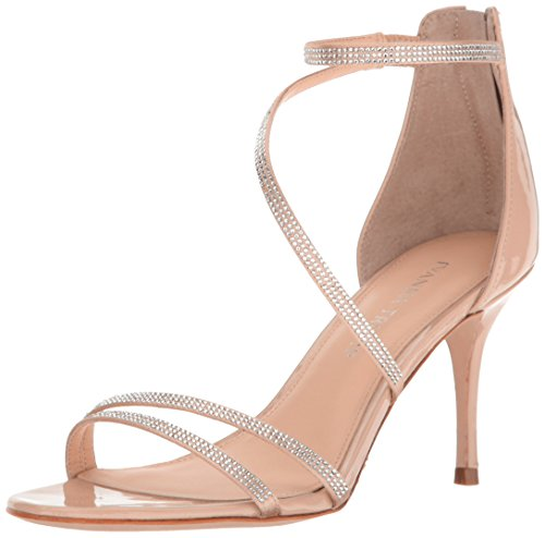 Ivanka Trump Women's Genese2 Heeled Sandal, Light Natural, 8.5 Medium US
