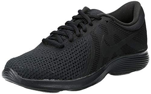 Nike Wmns Revolution 4 EU, Zapatillas de Deporte Unisex Adulto, Multicolor (Aj3491 002 Negro), 40