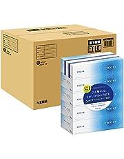 エリエール ティッシュ プラスウォーター(+Water) 180組×50箱 (5箱×10パック) パルプ100% 【ケース販売】