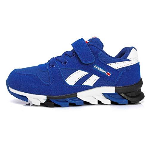 Unisex-Kinder Kickoff Kids Low-Top Sneakers Laufen Schuhe Laufschuhe Outdoor Trekking Wanderschuhe für Mädchen Jungen (EU33=CN34, 819-Königsblau)