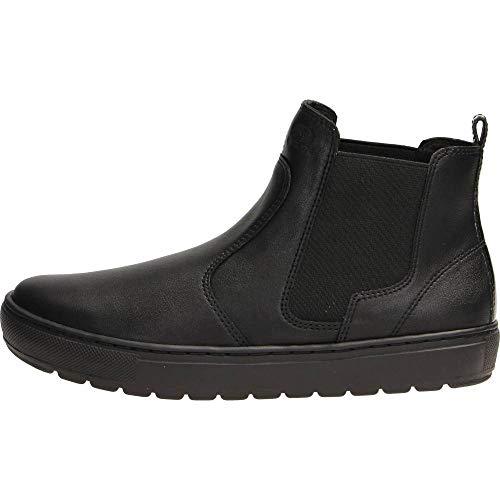 Geox Damen Breeda 26 Slip-on Ankle Warm Lined Sneaker Boot, Blk, 39 EU/9 M US Stiefelette, Black Oxford