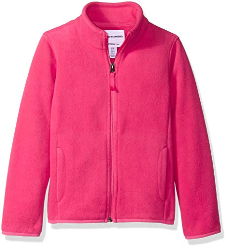 Amazon Essentials Girl's Full-Zip Polar Fleece Jacket