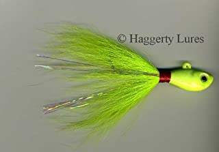 Bucktail Jig-Minnow Fish Guppy Head-Striper Fluke Flounder -10 oz to 16 oz Fishing Lures
