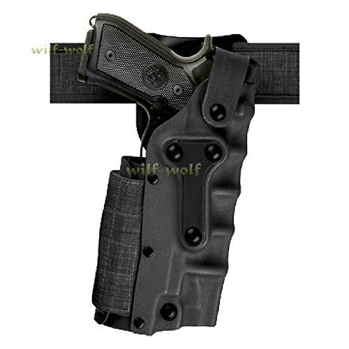 BGJ Funda de Pistola táctica para Beretta M9 M92 Sig Sauer P226 Colt 1911 Funda de Pistola Airsoft Funda de Pistola de Mano Derecha Izquierda Caza Militar