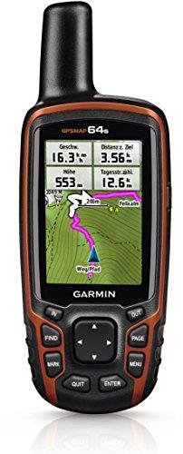 Garmin GPSMAP 64s Navigationshandgerät – barometrischer Höhenmesser, GPS und GLONASS Kompatibilität, Live Tracking, Smart Notification, 2,6 Zoll (6,6cm) Farbdisplay - 6