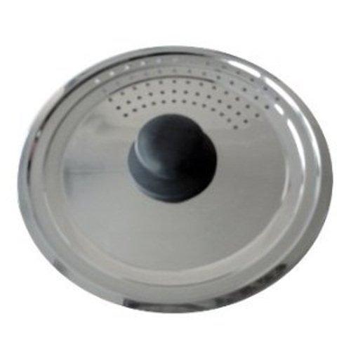 Baumalu 342719 - Coperchio con Fori per Vapore, in Acciaio Inox Multi graduato
