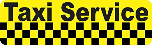 by Unbranded 25,4 x 7,6 cm Taxi Service...