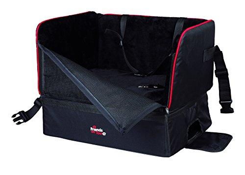 Trixie 1322 autostoel, 45 × 38 × 37 cm, zwart