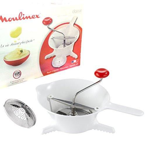 PASSA VERDURE IN PLASTICA della Moulinex diametro 24cm modello Classic per zuppe, legumi, composte, purèe, ortaggi e verdure