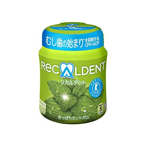 モンデリーズ リカルデントさっぱりミントガム(粒)ボトルR 140g ×6個