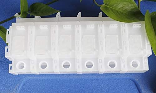 Accesorios de impresora compatibles con Epson L1300 / L1800 / L360 / L380 / L455 CISS Cartucho de tinta para tanque de tinta apto para accesorios de impresora de suministro de tinta (Color: 4 colores)