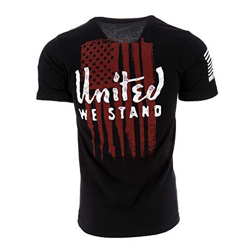 Nine Line United We Stand Men's T-Shirt, Color Black, Size