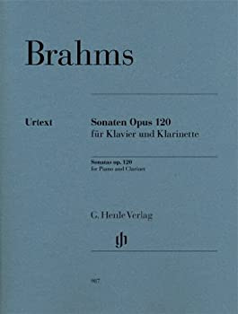 Clarinet Sonatas Op 120  English German and French Edition