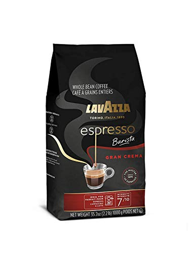 Whole bean coffee blend, 35. 2 oz bag, packaging may vary, medium espresso roast 10 full-bodied dark roast with creamy and full-bodied, with spices notes dark roast blended and roasted in italy
