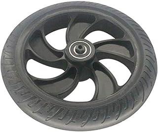 Centeraly Roue Arrière, 8 inch Trottinette Électrique Remplacement Roue Arrière Uni Pneu avec Moyeu Roulement pour Kugoo S...