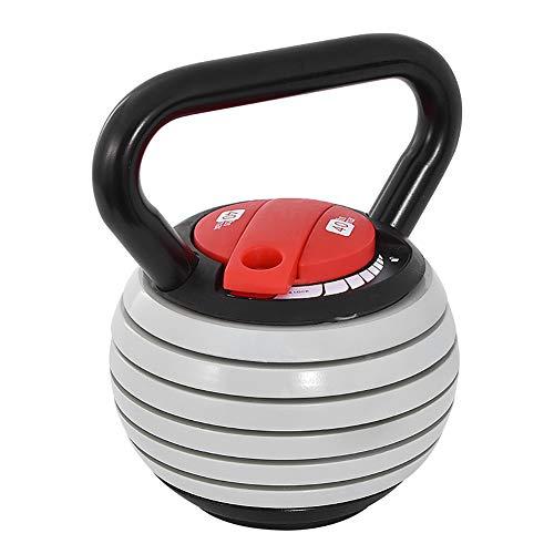 XER Juego de pesas rusas ajustables de 20 libras para levantamiento de pesas y gimnasio en casa