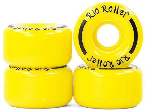 Rio Roller Coaster Räder, Unisex, Erwachsene S gelb
