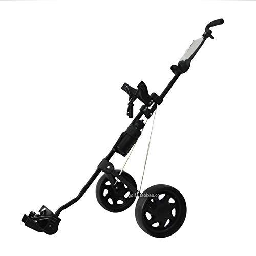 LILIS Golf trolleys,Fold Golfwagen Golf Charter zweirädrigen Wagen faltbar Multifunktionsgolfplatz Ausrüstung...