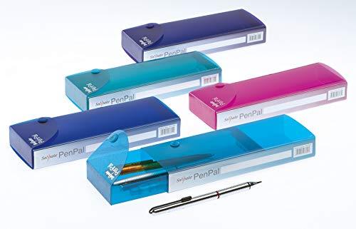 Snopake Pen Pal Federtasche 5 Stuks kleur gesorteerd / Electra-kleuren