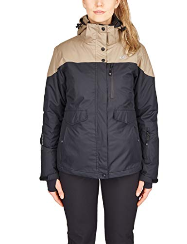 Ultrasport, Serfaus, functionele alpine outdoorjas, softshell met Ultraflow 10,000 en Ultrasport, geavanceerd dames, 3-in-1, all-weather functionele jas, ski/Snowboard, vrijetijdsjack met vele zakken