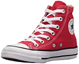 Converse - Chuck Taylor All Star Hi, Sneaker Unisex – Bambini, Rosso, 27