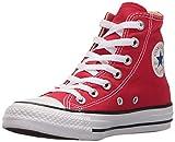 Converse Youths Chuck Taylor All Star Hi Zapatillas de tela, Unisex - Infantil, Rojo, 29