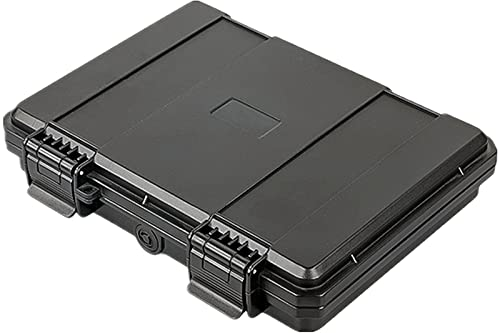 Waterproof Case 4.5mm Hole Lockable Storage dry Box, O-Ring Design IP67, Interior 7
