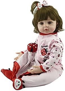 Kaydora Reborn Baby Doll 22 Inch Adorable Toddler Girl Reborn Baby, Named Abby
