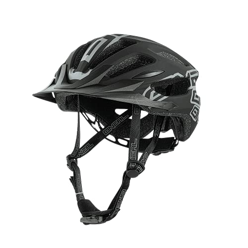 O'NEAL | Mountainbike-Helm | Enduro All-Mountain | Effizientes Ventilationssystem, Größenverstellsystem, EN1078 geprüft | Helmet Q RL | Erwachsene | Schwarz | Größe L/XL/XXL