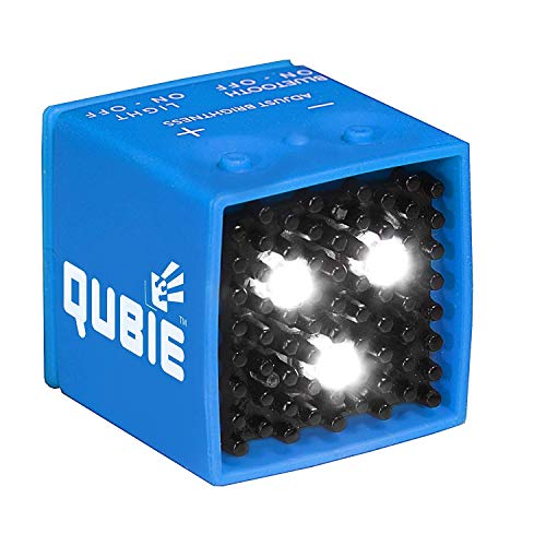 QUBIE  Bluetooth LED Light Blue for photography and lighting