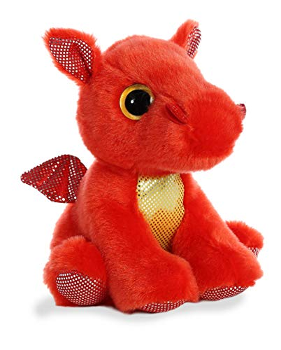 Aurora - Sparkle Tales - 7' Flame Red Dragon
