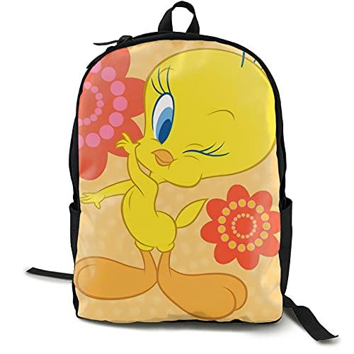 Twe-ety - Mochila escolar para niños con caja de almuerzo para lápices, mochila de viaje, mochila informal