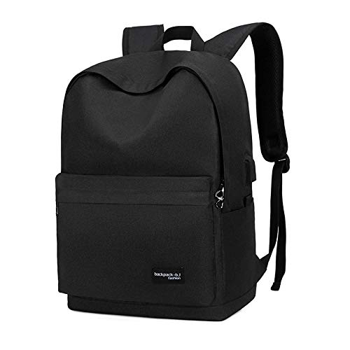 UKKO Backpack Male Business Backpack Computer Bag Student Backpack Large Capacity Travel Backpack Black