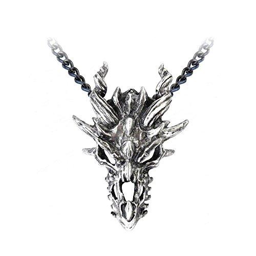Dragón colgante de calavera de Alchemy Gothic, England [joyas]