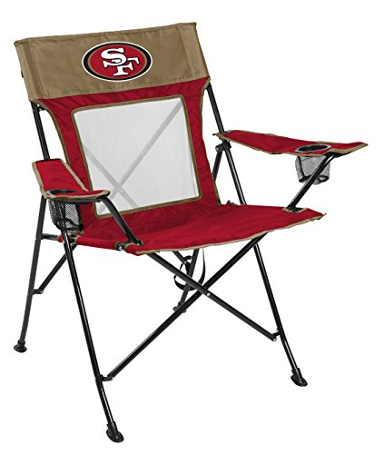 San Francisco 49ers NFL Deluxe Folding Arm Chair