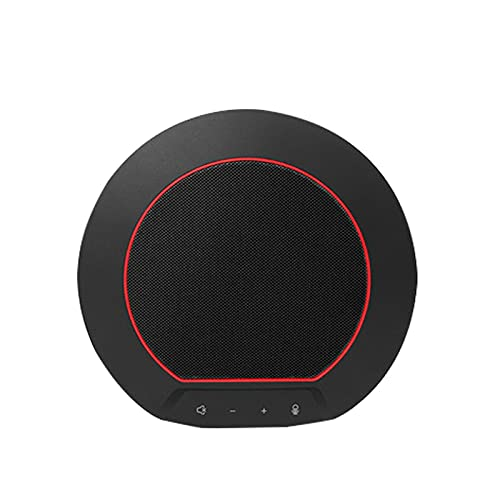 TANCEQI Bluetooth Speakerphone, 3D Gesture Control Noise Reduction Conference Speaker with Microphone Enhanced Noise Reduction Algorithm, Home Office, 360° Voice Pickup by Teams Voice Teams