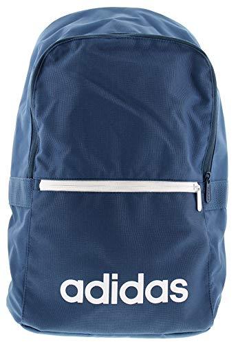 adidas Lin CLAS Bp Day Sporttasche, 55 cm, Blau (Dark Blue/Legend Ink/White)