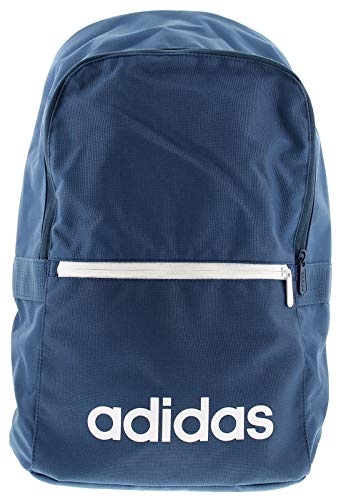 Adidas Unisex Adult Lin Clas Bp Day Gym Backpack - Dark Blue/Legend Ink/White, One Size