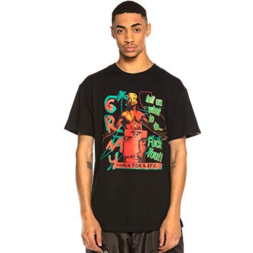 GRIMEY Camiseta Mack4Life tee SS20 Black-L
